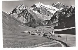 Schweiz - Davos - Sertig Dörfli Mit Mittagshorn Plattenhorn U. Hochducan - Graubünden - GR Graubünden