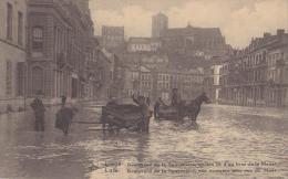 LIEGE INONDATIONS 1925_26 BD DE LA SAUVENIERE - Luik