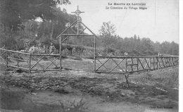 La Guerre En Lorraine,Le Cimetière Du Village Nègre - Francia