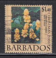 Barbados Used Scott #1146 $1.40 Christmas Candles By Darla Trotman - Christmas - Barbades (1966-...)