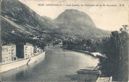 GRENOBLE  - 38 -  Les Quais, La Tronche Et Le Saint Eynard  -  151213 - - Grenoble