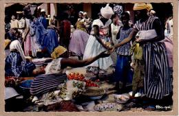 AFRIQUE EN COULEURS - CPM - 3017 - MARCHE AFRICAIN - éditeur HOA-QUI - Postcards