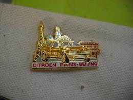 Pin´s  CITROEN Paris-Beijing. Pin's Arthus Bertrand - Citroën