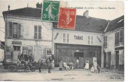 JOUY LE CHATEL - Place Du Marché - France