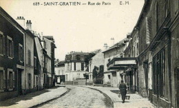 SAINT GRATIEN - VAL D´OISE   (95)  - PEU COURANTE CPA. - Saint Gratien