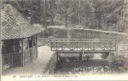 88 - Saint Dié : Les Molières - Kiosque Et Pont - Saint Die