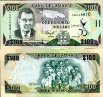 GIAMAICA - Jamaica 100 Dollars 2012 50th Indipendence (Comm)  UNC - Jamaica