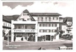Schweiz - Oberwil - Hotel Restaurant Adler Am Zugersee - 1959 - ZG Zoug