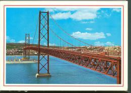 1990 EDITIONS DULIA  TAGUS BRIDGE - NAAR SINT NIKLAAS - EX M922 MYOSOTIS  - MARINE SHIP - Lisboa