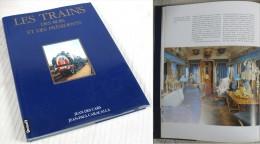 Les Trains Des Rois & Présidents / Dédicace De L'auteur Jean-Paul Caracalla / Éditions Denoël 1992 - Livres, BD, Revues