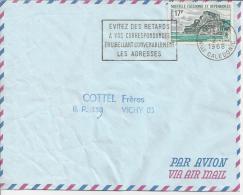 Nèlle CALEDONIE - LETTRE DE NOUMEA A DESTINATION DE VICHY - FR - - Briefe U. Dokumente