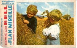 Buvard- Chwing Gum  Bell Et Flan Mireille - Buvards, Protège-cahiers Illustrés