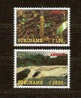 Suriname 1995 Yvertn° 1367-68 *** MNH Cote 90 FF Flore Fôrets - Suriname