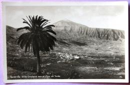 Tenerife - Villa Orotava Con El Pico De Teide - Tenerife