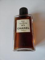 VINTAGE & VERY RARE: EAU DE TOILETTE N° 5 CHANEL PARIS  ( 246 ML 80° 58S) - Fragrances