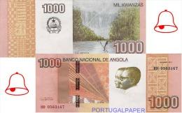 ANGOLA - - 1000  KWANZAS  2012  - UNC - Angola