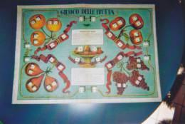 """GIOCO DELL'OCA -DI PERCORSO -DI SOCIETA'""""GIOCO DELLA FRUTTA"""" Cm.49,5X35   -2 -  0882.11885 - Gesellschaftsspiele"""