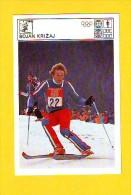 Svijet Sporta Cards - Bojan Križaj - Sports D'hiver