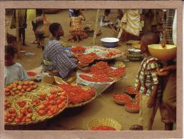 AFRIQUE EN COULEURS - CPM - 8959 - MARCHE DE PIMENTS - éditeur IRIS - Postcards