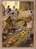 AFRIQUE EN COULEURS - CPM - 8229 - SCENE DE MARCHE - éditeur IRIS - Postcards