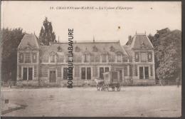 51----CHALON SUR MARNE--La Caisse D'epargne--attelage - Châlons-sur-Marne