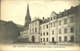 NANTES - La Nouvelle Caserne Des Pompiers, Façade Intérieure       -- Artaud Et Nozais 722 - Nantes
