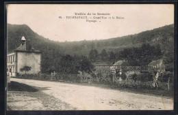 TOURNAVAUX . Grand'Rue Et La Mairie . - France