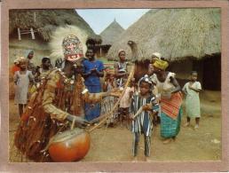 AFRIQUE EN COULEURS - CONGO ?? - CPM - 7632 - DANSE DU GRILLOT - GRIOT - éditeur IRIS - Postcards