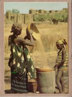 BURKINA FASO - HAUTE VOLTA - CPM - KOUDOUGOU - VANAGE DU MIL - éditeur ATTIE - Burkina Faso
