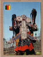 CAMEROUN - 5672 - DANSEUR BAMILEKE - MASQUE - éditeur IRIS - Cameroon