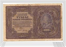1000 Marek 1919 - Pologne - I SERJA M - N° 305348 - - Pologne