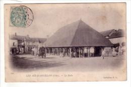 18 _  LES  AIX - D' ANGILLON  _  La  Halle  _ - Autres Communes