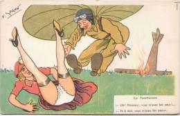 V. SPAHN -  Le Parachutiste - Oh ! Monsieur Vous M'avez Fait Peur !.... - Andere Zeichner