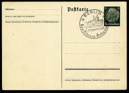 A2480) DR Ganzsachenkarte 6 Pfg Hindenburg Mit Markantem Fehler - Deutschland
