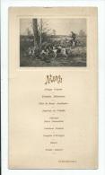 MENU. Menu Le 26 Mars 1911- (JACHT-CHASSE-HUNTING) - Menus