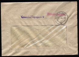 A2481) SBZ Geschäftspapiere-Brief Von Meiningen 26.1.1946 Mit Barfrankatur - Sowjetische Zone (SBZ)