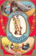 CPA - Tarjeta De Felicidades - El Pintor - Unclassified