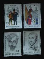 België Belgique 1978 Culturele Théatre Arquebusiers  Yv 1888-1891 COB 1893-1896  MNH ** - Bélgica