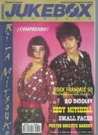 JUKEBOX MAGAZINE  N° 79  -  RITA MITSOUKO  - 1994 - Poster Page Centrale: BRIGITTE BARDOT - Musik