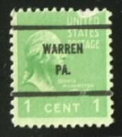 Presidential Series 1938 - Prematasellado