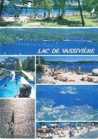 Le Lac De VASSIVIERE - Limousin - Plage Du Village-Vacances De Magrangeas, Vue Générale, Plage D'Auphelle, Vue Aérienne - Non Classés