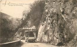 Beaufort 73 Savoie  Gorges De Bonnecines Autobus - Beaufort