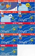 9 Cartes De Lavage (bon état) - Francia