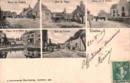 28 VIABON PLACE DE VIABON, RUE DE FAINS, PLACE DE LA MAIRIE, PLACE DE LA MARE, RUE DE VOVES  VUES MULTIPLES CIRCULEE 09 - France