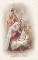 Joyeux Noël, Nativité, Vierge Marie, Dorures - Noël