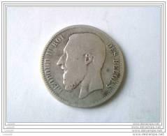 2 FRANCS 1866 - LEOPOLD II - 1865-1909: Leopold II