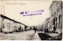 Saint Mard Sur Le Mont - Rue Gravier (tampon Militaire, 143e Rgt D'Infanterie) - France