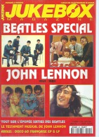 JUKEBOX MAGAZINE  N° 95  -  BEATLES / JOHN LENNON  - 1995 - Poster Page Centrale: JOHN LENNON - Musique