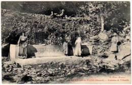Lamalou Les Bains, Fontaine De Villecelle - Lamalou Les Bains
