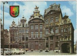 Bruxelles: RENAULT 4, FORD TAUNUS 17M P3, CITROËN AMI - Grand 'Place / Grote Markt - België/Belgique - Passenger Cars
